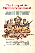 Shenandoah 1965 Movie poster James Stewart