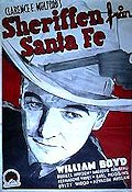 Santa Fe Marshall 1940 poster William Boyd