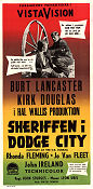 Gunfight at the O.K. Corral 1957 poster Burt Lancaster John Sturges