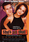 She's All That 1999 Movie poster Freddie Prinze Jr
