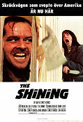 The Shining 1980 Movie poster Jack Nicholson Stanley Kubrick