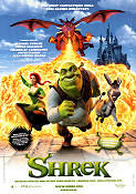 Shrek 2001 Movie poster