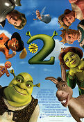 Shrek 2 2004 Movie poster