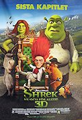 Shrek 3 2010 Movie poster