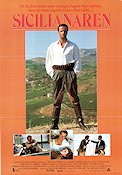 The Sicilian 1987 Movie poster Christopher Lambert Michael Cimino