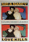 Sid and Nancy 1987 Movie poster Gary Oldman