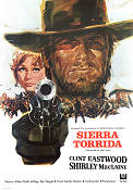 Two Mules for Sister Sara 1970 poster Clint Eastwood Don Siegel
