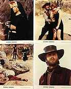 Two Mules for Sister Sara 1970 lobby card set Clint Eastwood