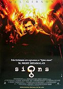 Signs 2002 poster Mel Gibson M Night Shyamalan
