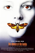 The Silence of the Lambs 1990 poster Anthony Hopkins Jonathan Demme