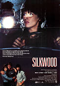 Silkwood 1983 Movie poster Meryl Streep Mike Nichols