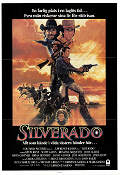 Silverado 1985 Movie poster Kevin Kline