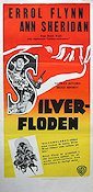 Silver River 1948 Movie poster Errol Flynn