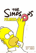 The Simpsons Movie 2007 poster Homer Simpson Matt Groening