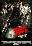 Sin City 2005 Movie poster Frank Miller Robert Rodriguez