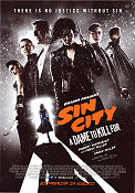 Sin City A Dame to Kill For 2014 poster Mickey Rourke Frank Miller