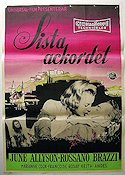Interlude 1957 Movie poster June Allyson