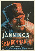 The Last Command 1928 Movie poster Emil Jannings