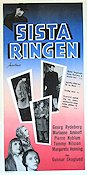 Sista ringen 1955 Movie poster Georg Rydeberg
