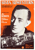 Last Holiday 1951 Movie poster Alec Guinness