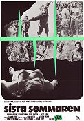 Last Summer 1970 Movie poster Barbara Hershey