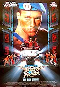 Street Fighter the Ultimate Battle 1994 Movie poster Jean-Claude van Damme