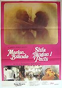 Last Tango in Paris 1973 Movie poster Marlon Brando Bernardo Bertolucci