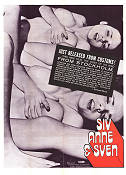 Siv Anne and Sven 1971 poster Liliane Malmquist Joe Sarno