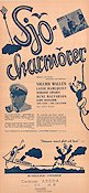 Sj�charm�rer 1939 Movie poster Lasse Dahlquist
