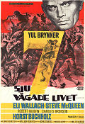 The Magnificent Seven 1960 poster Yul Brynner John Sturges
