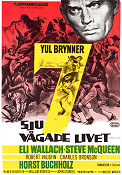 The Magnificent Seven 1960 poster Yul Brynner