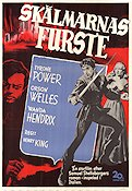 Prince of Foxes 1949 Movie poster Tyrone Power Henry King