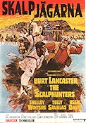 The Scalphunters 1968 Movie poster Burt Lancaster