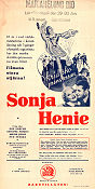 One in a Million 1936 poster Sonja Henie Sidney Lanfield