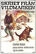 Skriet fr�n vildmarken 1974 Movie poster Charlton Heston Ken Annakin
