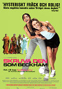 Bend it Like Beckham 2002 Movie poster Keira Knightley