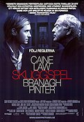 Sleuth 2007 Movie poster Michael Caine