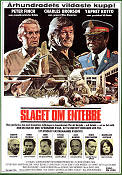 Raid On Entebbe 1977 Movie poster Charles Bronson Irvin Kershner