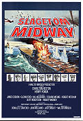 Midway 1977 Movie poster Charlton Heston