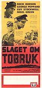 Tobruk 1967 Movie poster Rock Hudson