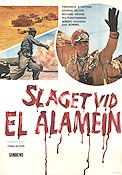 The Battle of El Alamein 1968 Movie poster Frederick Stafford