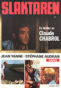 Le Boucher 1970 poster Stéphane Audran Claude Chabrol