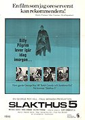 Slaughterhouse Five 1972 Movie poster Michael Sacks George Roy Hill