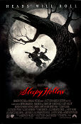 Sleepy Hollow 1999 poster Johnny Depp Tim Burton