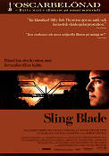 Sling Blade 1996 Movie poster Billy Bob Thornton