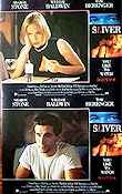 Sliver 1993 lobby card set Sharon Stone