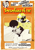 Smekmånad på tre 1963 Movie poster Doris Day