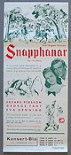 Snapphanar 1942 Movie poster Edvard Persson