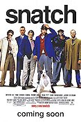 Snatch 2000 Movie poster Brad Pitt Guy Ritchie