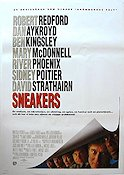 Sneakers 1992 Movie poster Robert Redford